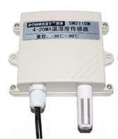 FREE SHIPPING SM2110M Protective 4 20mA Temperature and humidity sensor transmitter built in SHT10