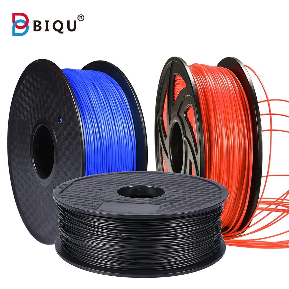 BIQU 3D filament 1.75 PLA filament Multi-couleurs 1 kg en plastique bobines PlA filament pour 3D imprimante 3d stylo filament