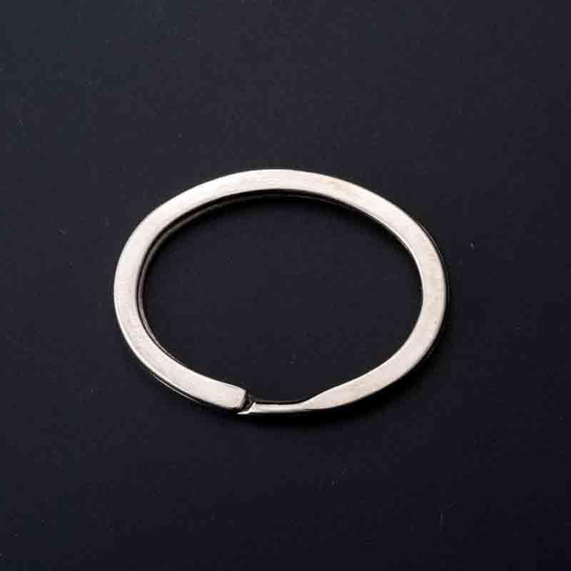 Der Dekoration Erkenntnisse 10 Teile/los Hohe Qualität Oval Form Blank Double Flache Split Ring Schlüssel Ring Fit Frauen/männer Schlüsselring Kette Perlen & Schmuck Machen