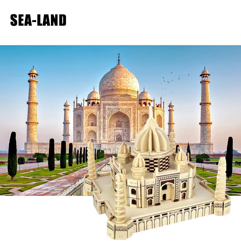 A Toys For Children 3D Wooden Puzzle The Taj Mahal A Kids Toys Also Suitable For Adult Diy Game A Best Gift Of High Quality Wood