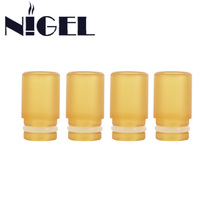Nigel 9 7mm PEI Drip Tip 510 PEI Plastic Raw Material Wide Bore 9 7mm Diameter