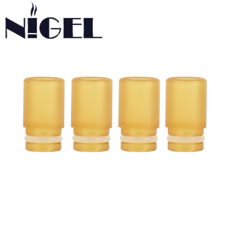 निगेल 9.7 मिमी PEI ड्रिप टिप 510 PEI प्लास्टिक कच्चे माल वाइड बोर 9.7 मिमी व्यास मुँह ई सिगरेट सिगरेट 510 एटमाइज़र