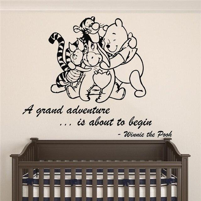 Winnie Pooh & Friends Eine Grand Abenteuer Ist Über Zu beginnen ...