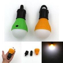Mini Portable Camping Equipment Lantern Tent Light LED Bulb Emergency Lamp Waterproof Hanging Hook Flashlight
