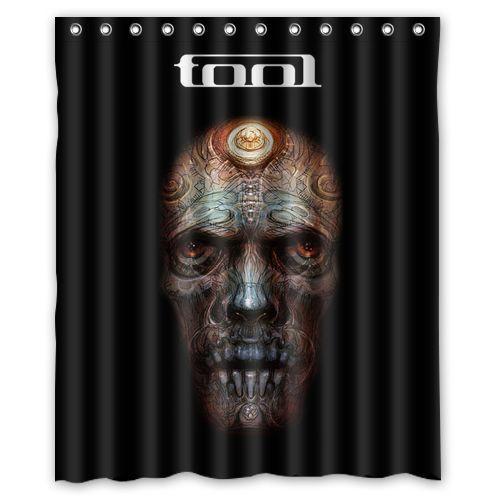 New Tool Band Rock custom Shower Curtain Bathroom decor Free Shipping 36×72″ 48×72″ 60×72″ 66×72″