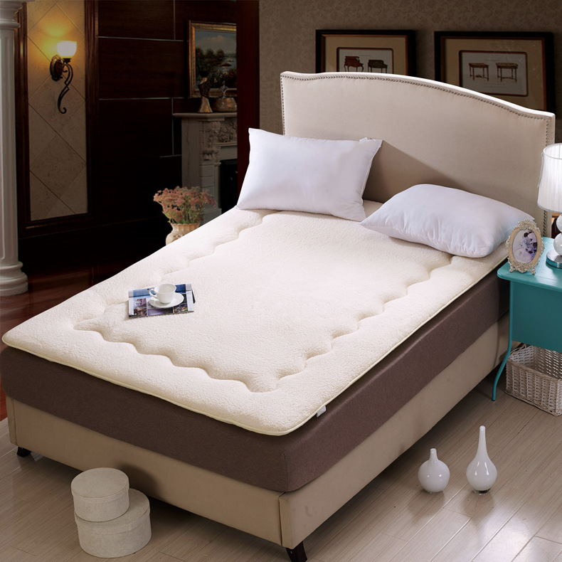 Super Super warm lamb mattress Thick lamb mattress Anti slip mattress Free shipping