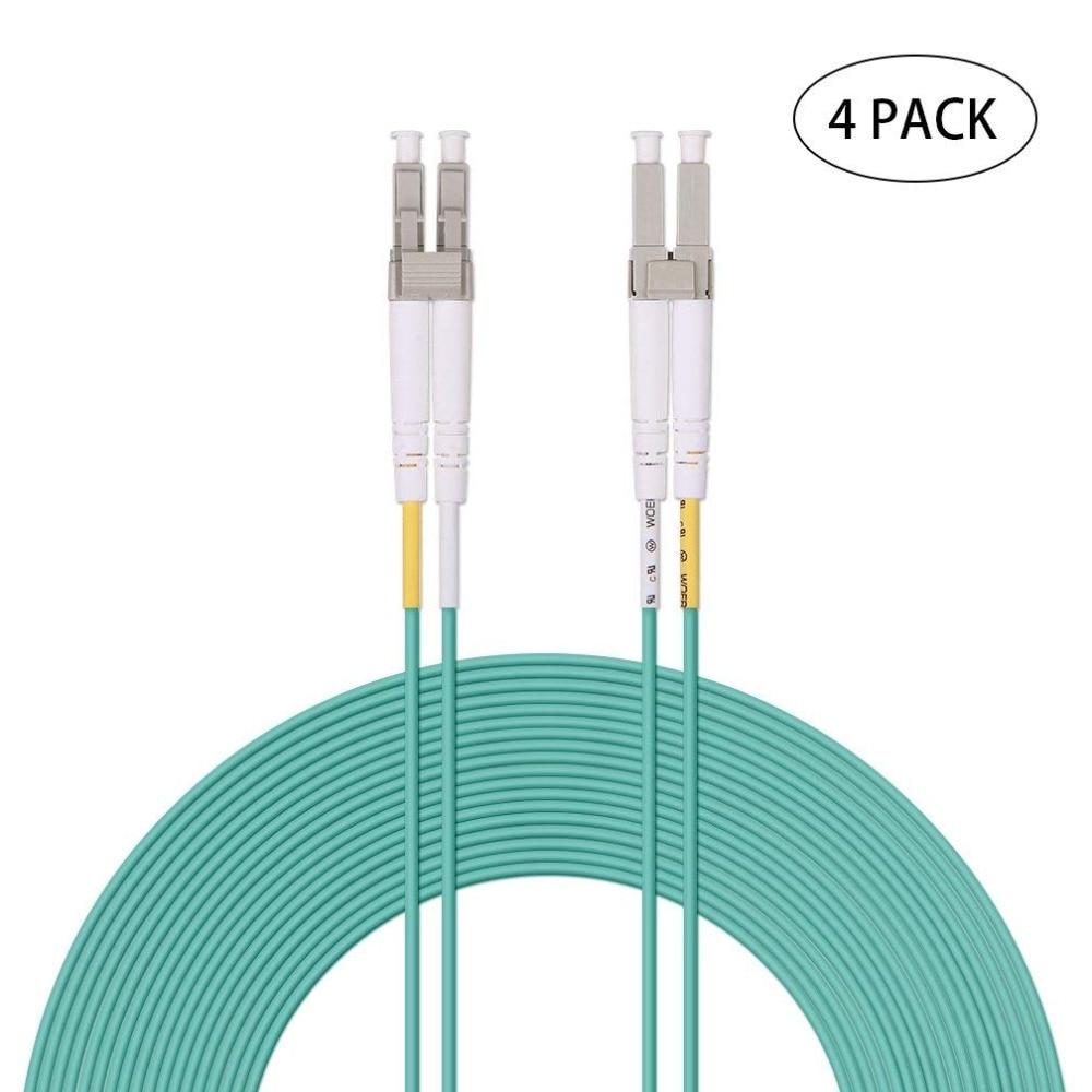 3M 10FT LC-LC Fiber Optic Cable Multimode 62.5//125 µm M//M Patch Cord Jumper