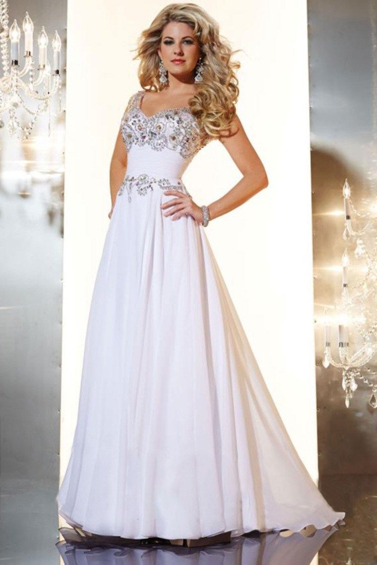 b6b38cc1f8 Vestidos de graduacion blanco largo – Vestidos baratos