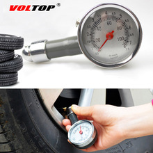 VOLTOP Tire Pressure Monitor Systems Meter Car Accessories Bike Motor Safety Air Dial