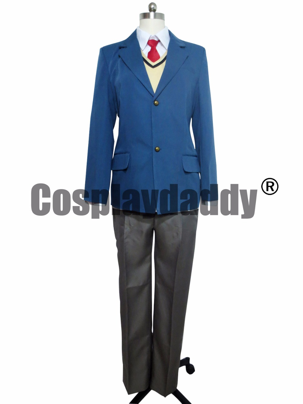 Parasyte Kiseiju Shinichi Izumi Cosplay kostým F008
