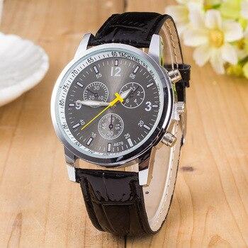 Analog Stainless Steel Business Quartz Watch 2