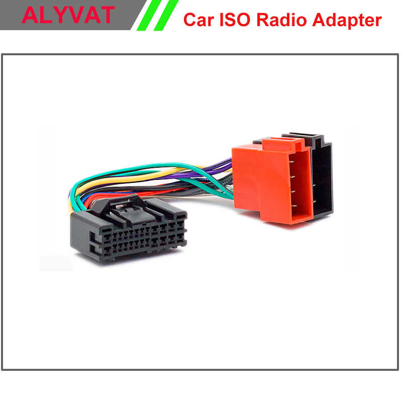 Detail feedback questions about car iso stereo wiring harness for cam sensor wiring car iso stereo adapter connector for hyundai 2005 onwards kia 2005 onwards wiring harness auto radio