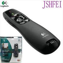 JSHFEI Laser Pointer Logitech R400 Wireless Presenter R400 wholesale& with bag IR PPT Presenter 650nm Wholesale Lazer