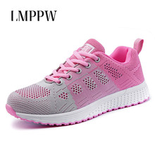New Flying Weaving Shoes Women Casual Sport Mesh Breathable Sneakers Fashion Ladies Flats Summer Female Loafers Comfort