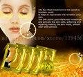 Нестареющий 10 Pairs новый кристалл 24 К золотой порошок гель коллагена маска для глаз против морщин