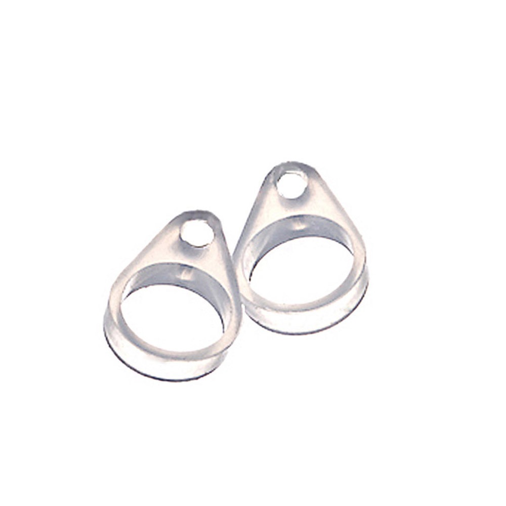 Fly.BUCKNOR 5MM Womens Fashion Titanium Steel Ring Letter Lovers Ring Black and White