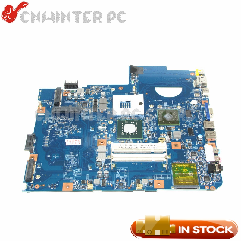 цены NOKOTION JV50-MV M92 MB 48.4CG07.011 For Acer aspire 5738 Laptop Motherboard MBP5601015 GM45 DDR2 HD4500 Free CPU