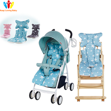 Baby Stroller Car Seat Accessories Diaper Pad Warm Cushion Mattresses Pillow Cover Child Trolley