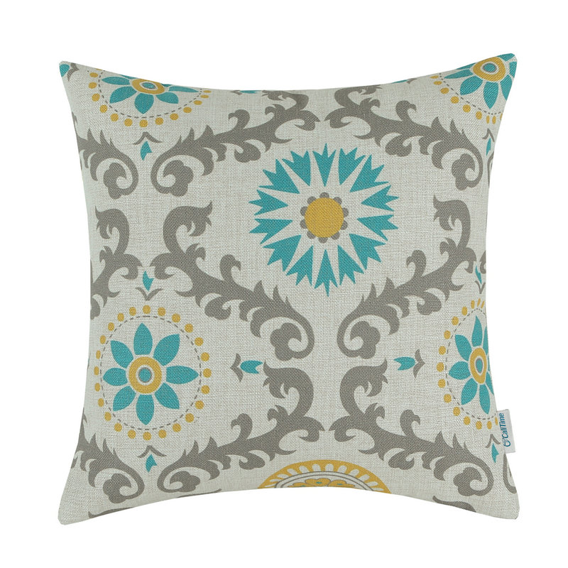 CaliTime Decorative Pillows Shell Cushion Cover Home Sofa ...