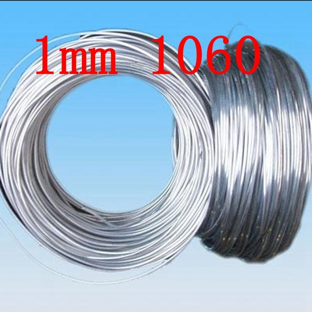 1mm 1060 Pure Aluminium Wiresilver Aluminum Craft Wire Wrapping 19 Gauge Sculpture Floral Jewelry