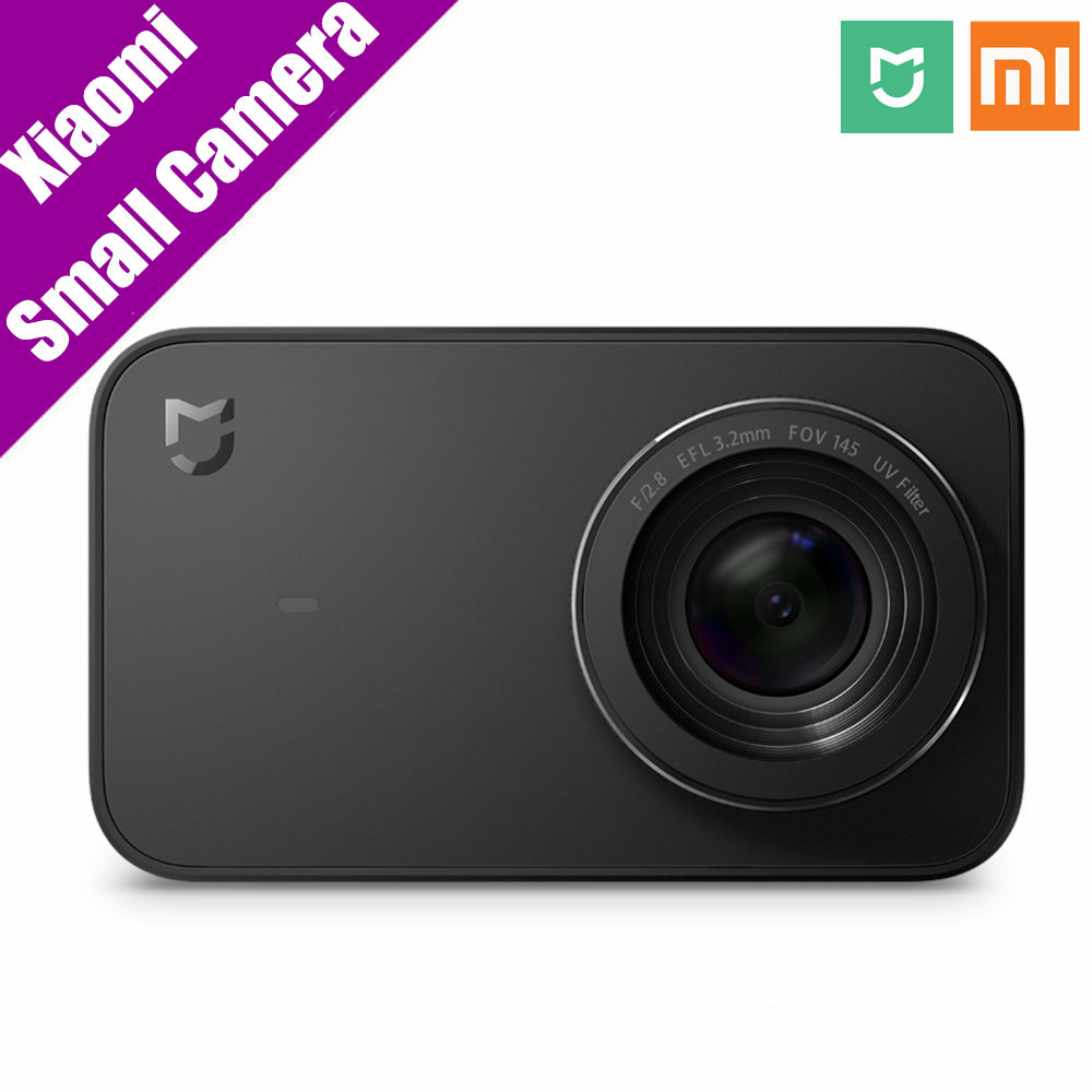 action камера acme vr03 ultra hd 4k Xiaomi Mi Action Small Camera Ultra HD 4K 30fps 2.4 Screen Ultra-wide Angle Anti-shaking 3840 x 2160 Wifi Smart Sport Camera