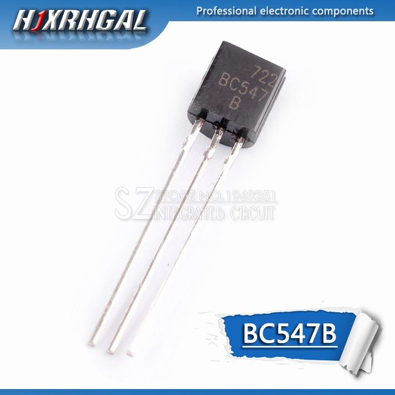 5pcs BC547B TO-92 BC547 TO92 547B triode transistor