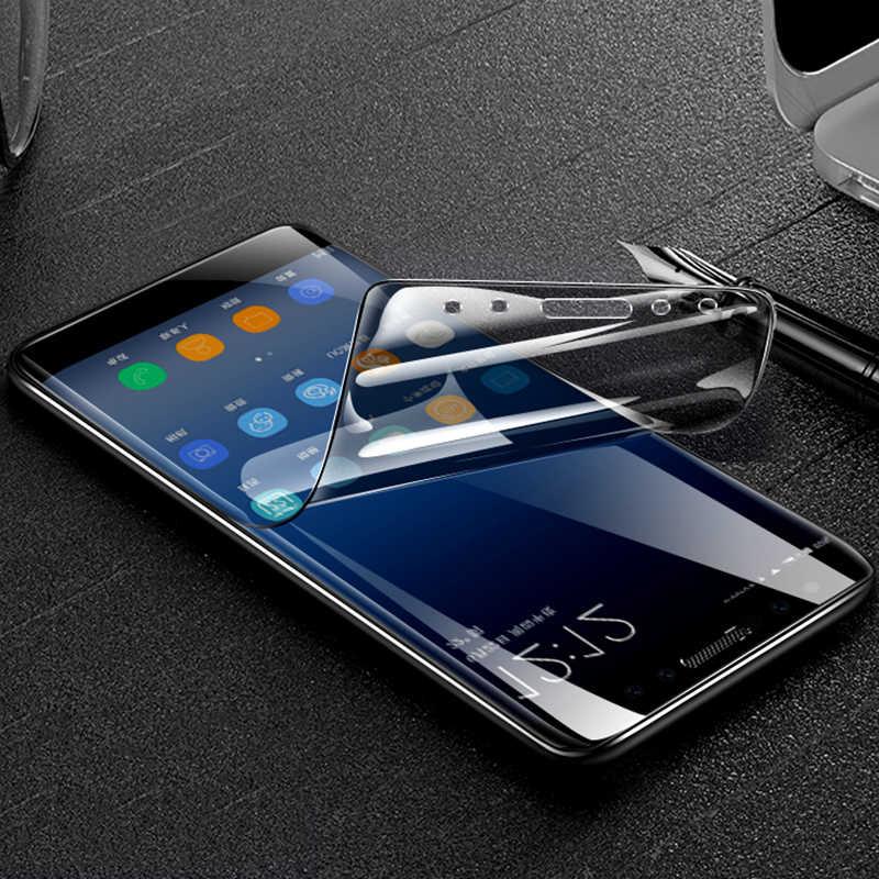 واضح HD/ماتي PET شاشة واقية فيلم لسامسونج غالاكسي S8 S8plus S9 S9plus S7 S7edge S6 حافة نوت 8 A8 2018 A720 A7 2017
