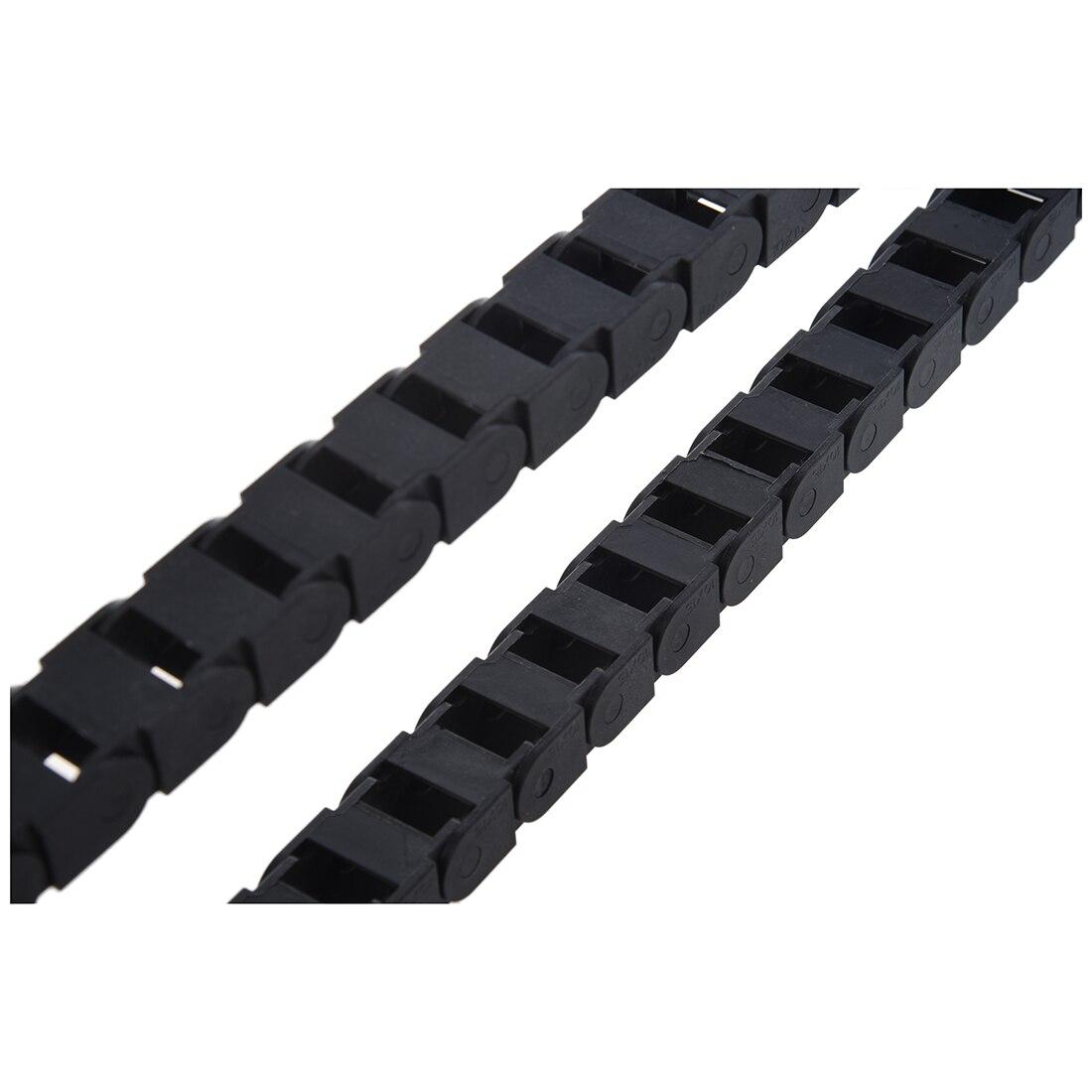 1 м длинные BLK в пластик потяга кабель цепной 10х15 мм