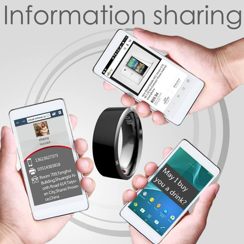 R3 R3F MJ02 New Technology Magic NFC Smart Rings 2