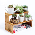 Desktop flower rack Small fleshy flower Mini multi layer flower shelf windowsill storage rack