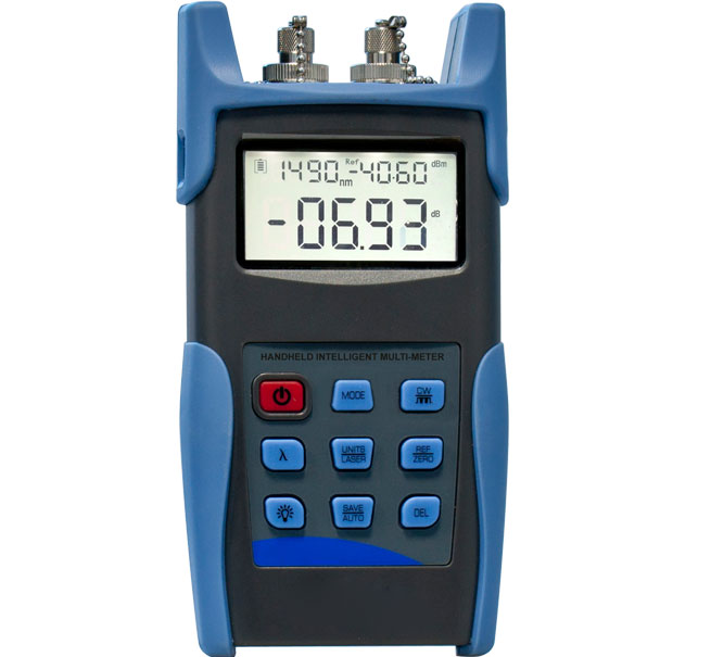 FPL300A Handheld Optical Multimeter (optical power meter + dual wavelength light source)