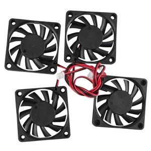 Image 4 - 3D Printer Accessories 6010 24V Extruder Oil Bearing Cooling Fan 4Pcs For 3D Printer, Engraving Machine,Cutting Machine