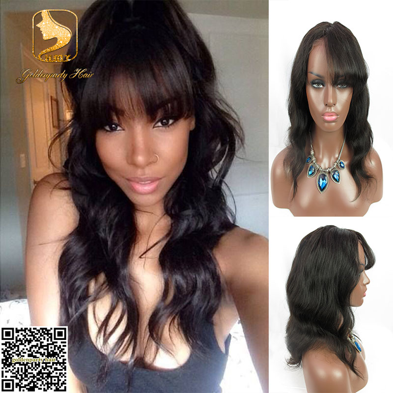 Astounding Aliexpress Com Buy 8A 10 22 Natural Black Body Wave Full Lace Hairstyles For Women Draintrainus