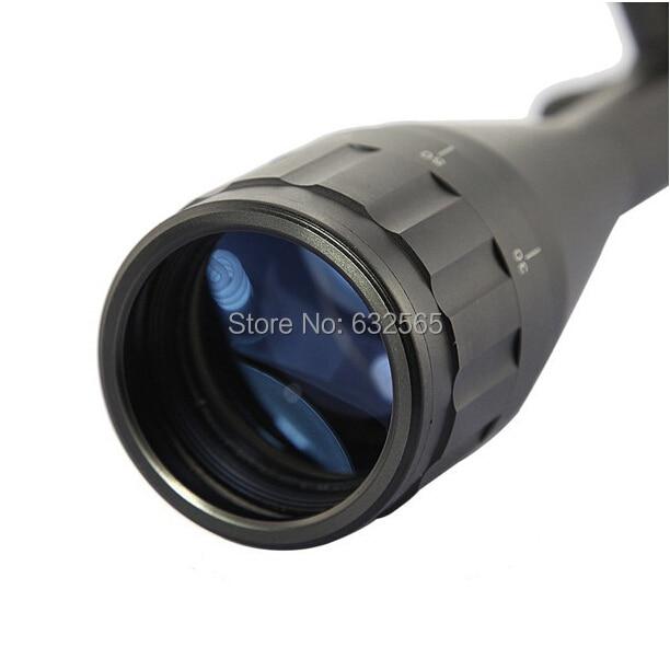 308 прицел 6-24x50 AOE Riflescope R& G с подсветкой Riflescope сетка ружье винтовка Снайперский прицел для охоты