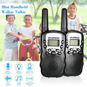 Image 3 - 2 PCS Baofeng BF T3 Mini Children Walkie Talkie Two Way Ham UHF Radio Station Transceiver Boafeng PMR 446 PMR446 Amador Handheld