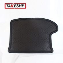3D Black Truck Rear Tail Tray Boot Liner Protecter Trunk Cargo Mat Carpet All Weather Waterproof For Jeep Compass before 2015