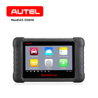 Autel MaxiDAS DS808 Smart Auto Diagnostic Analysis Tool OBD2 Wifi Car Scanner for Codes,Live Data,Active Test,ECU Information