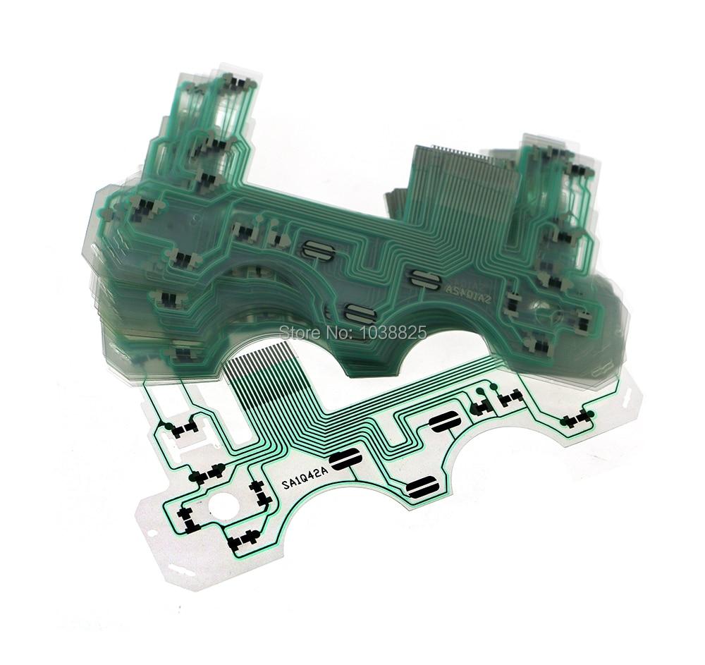 300pcs lot Conductive Film Keypad for Playstation 2 PS2 Controller PCB Circuit SA1Q42A