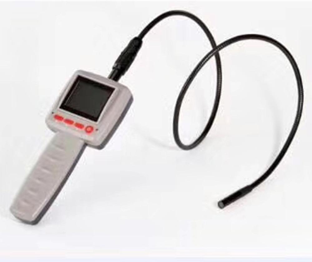 2.4LCD 10mm Len Image 180 Degree Rotation AV Handheld Endoscope цена