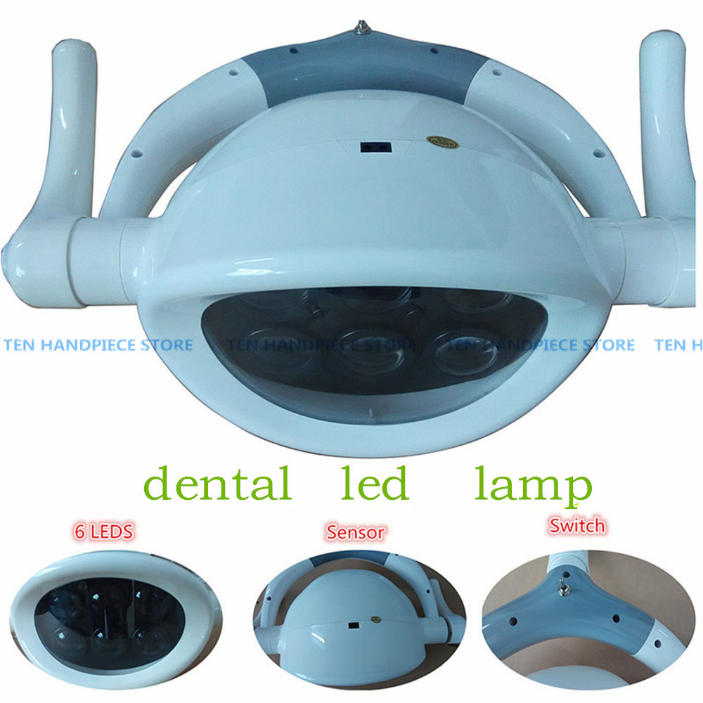2018 good quality dentistry Dental lamp LED lamp induction lamp Designed shadowless dental chair accessories 3218 18 1 3 nicd 3218 4