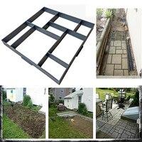 Jardim Andar Pavimento Pavimentação de Molde DIY Molde Molde Molde da Pedra De Piso De Concreto do Pavimento Jardim Gramado Caminho Paver