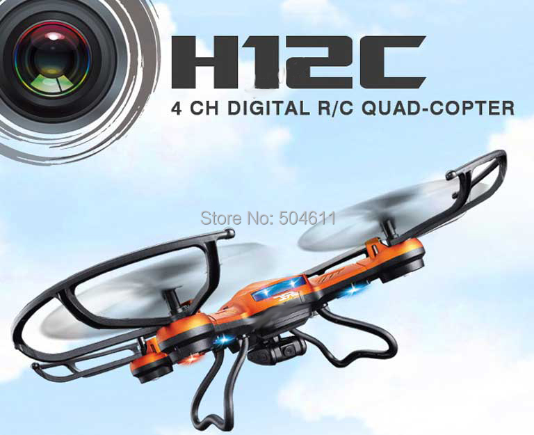 JJRC H12C 4CH 360 Flips One key return 2.4GHz RC Quadcopter w 2MP Camera Headless Mode RTF RC Helicopter jjrc upgraded h5c headless mode one key return rc quadcopter helicopter drone with 2mp camera rtf 2 4ghz
