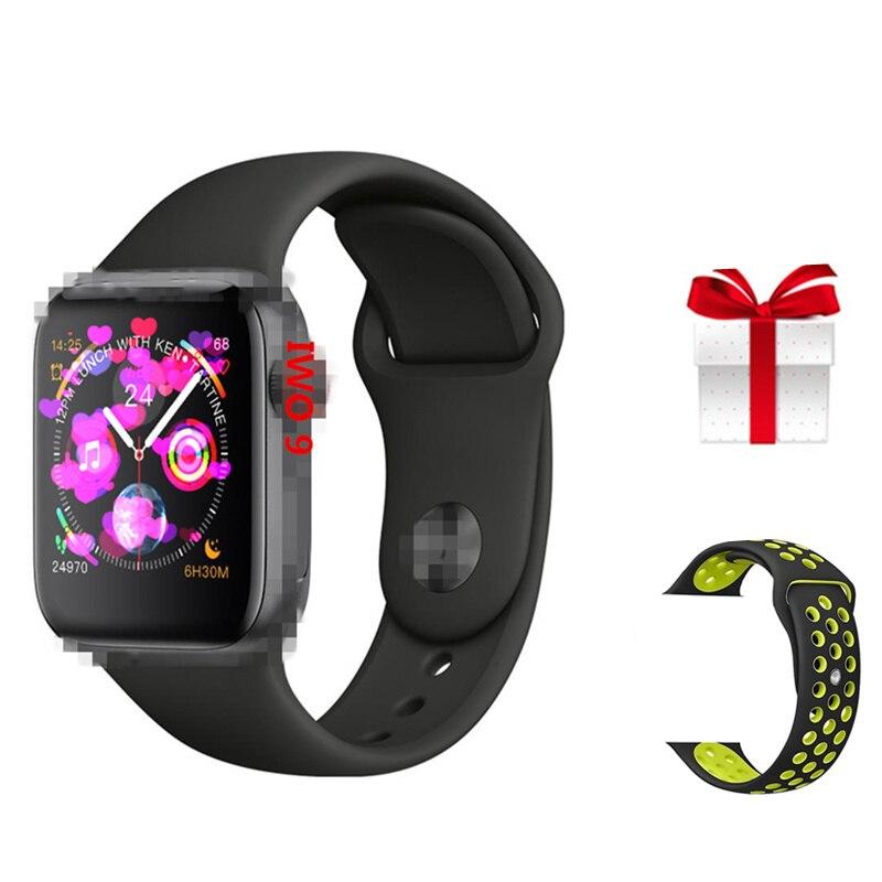 IWO 9 belt set Smart Watch 2019 IWO 9 44mm Series 4 Heart Rate Monitor Bluetooth