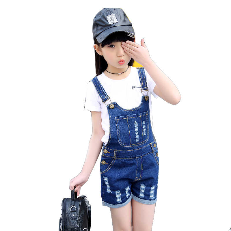 e559bb06dfe77 young girl jeans girls clothing set 2019 summer two piece set jeans ...