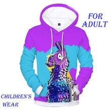 532256e0 2019 New Battle Royale Hoodies Men 3D Printed Hooded Popular FORTNITER Game  Smash Pony Horse Sweatshirt
