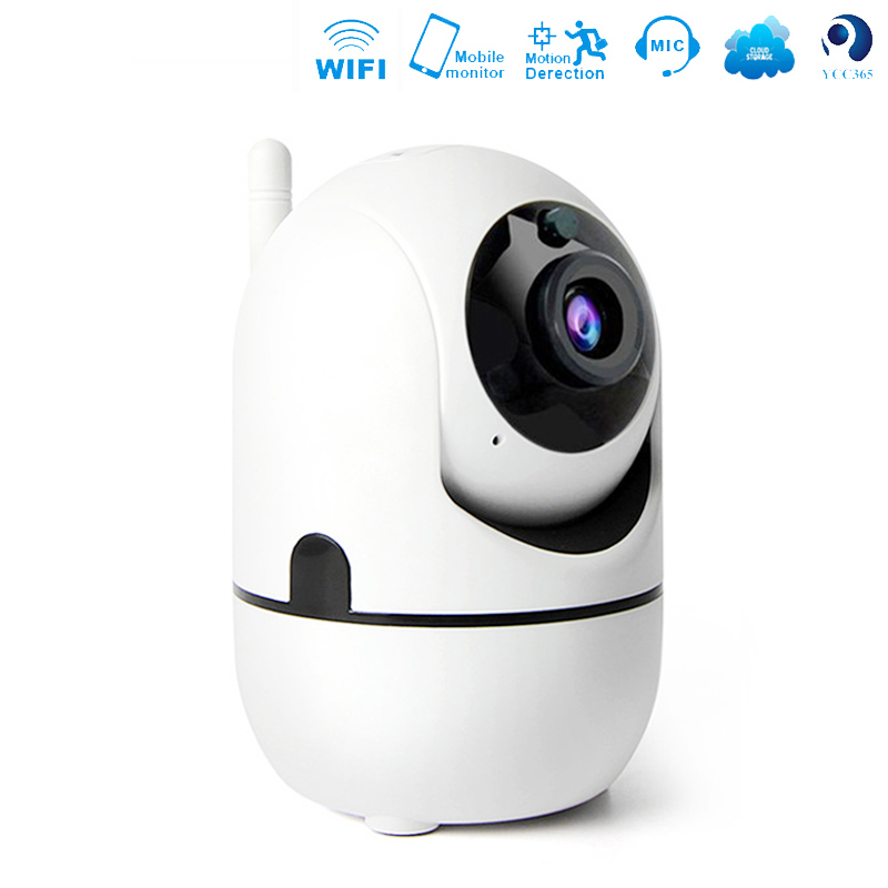 IP Camera 1080P Wireless WiFi Smart PTZ Home Security IP Cam Kamera Motion Tracker Baby Monitor 720P USB Wi Fi Camera + TF Card image