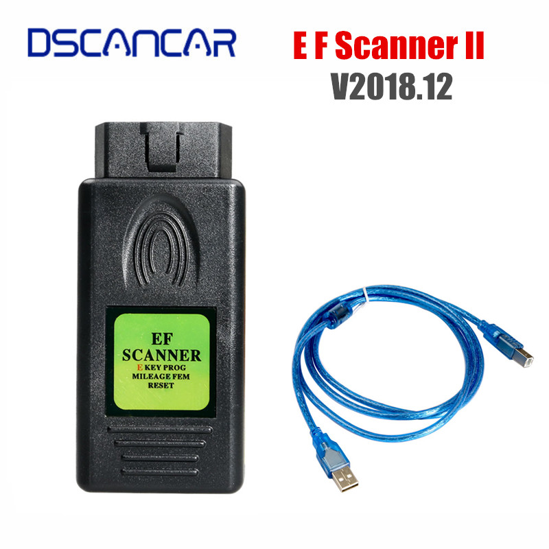 V2018 12 For BMW E F SCANNER II with Diagnostic Mileage Adjustment Function
