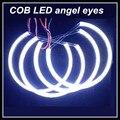 4x131mm cob led angel eyes para BMW E36 E38 E39 E46 proyector blanco COB DRL angel eyes faros de halo anillo para BMW car styling
