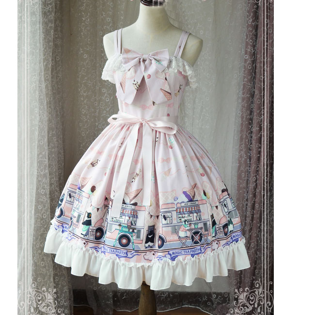 Ice Cream Party Sweet Lolita JSK Dress by Magic Tea Party