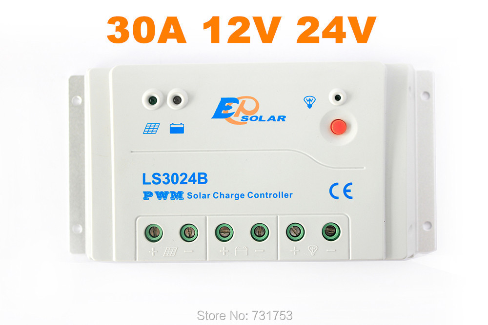 MAYLAR@ 30A 12V 24V Solar Charge controller Regulator RS-485 Bus Communication With PC For Solar Off-grid System 20a 12 24v solar regulator with remote meter for duo battery charging